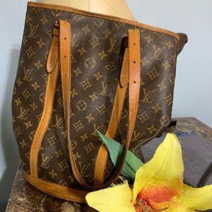 Vintage Louis Vuitton large bucket bag